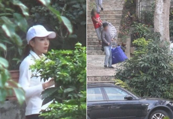 Vợ Ngụy Tuấn Kiệt về nhà lấy đồ và dọn đi.