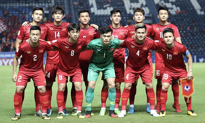 Đội hình xuất phát của U23 Việt Nam trong trận gặp Jordan. Ảnh: Đức Đồng.