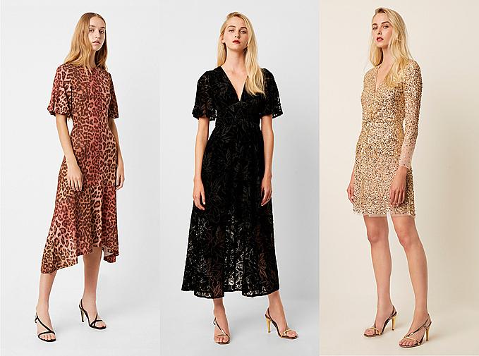 French Connection sở hữu nhiều món đồ thời trang hợp mốt.