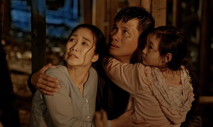 Ốc Thanh Vân và Võ Thành Tâm vào vai vợ chồng.