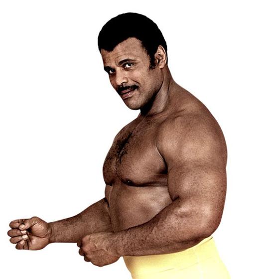 Ông Rocky Johnson thời trẻ.