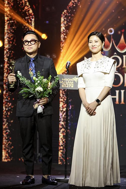 Bên cạnh vai trò giám khảo, NTK Công Trí nhận giải Ngôi sao cống hiến.