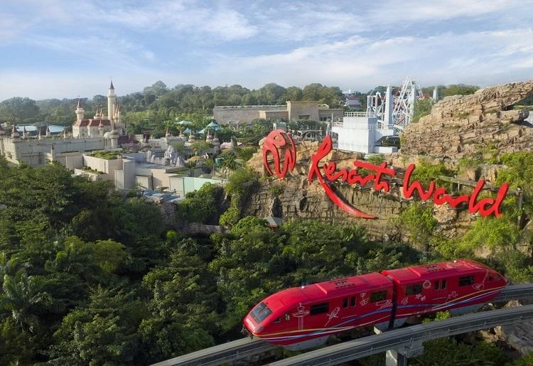 Resort World Sentosa là tổ hợp giải trí nổi tiếng không thể bỏ qua khi ghé thăm Singapore. Ảnh: Courtesy of Resorts World Sentosa.