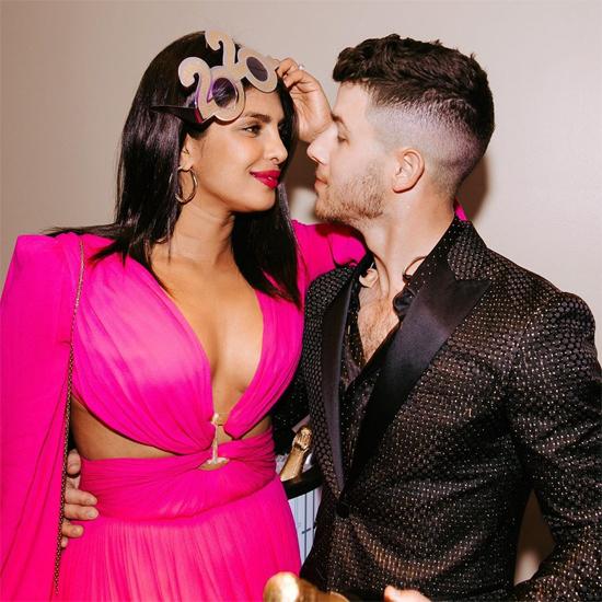 Priyanka và Nick Jonas.