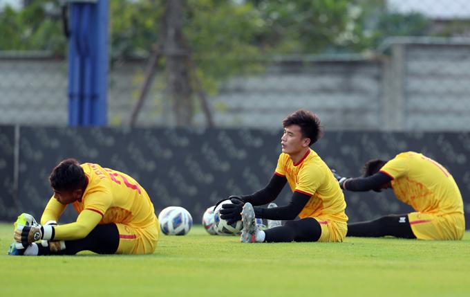 Không để thủng lưới sau hai lượt trận, thủ môn Bùi Tiến Dũng là điểm sáng hiếm hoi của U23 Việt Nam ở giải đấu năm nay, lấy lại hình ảnh thủ môn quốc dân tại Thường Châu hai năm trước.
