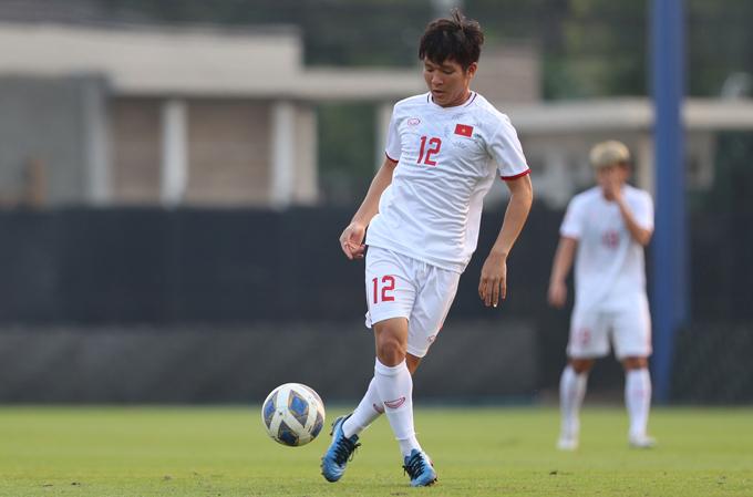 Thái Quý là một trong ba cầu thủ cùng với Đức Chinh và Đình Trọng được thầy Park tung vào sân trong trận gặp Jordan hôm 13/1.