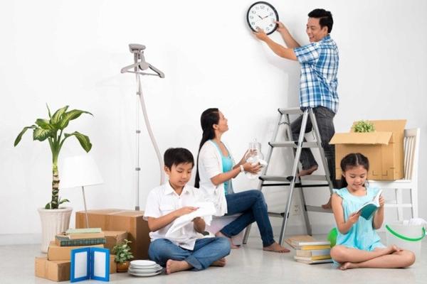 Theo quan niệm Á Đông, mỗi người một tay dọn dẹp nhà cửa sạch sẽ là đang sẵn sàng nghênh đón một năm mới tốt đẹp.