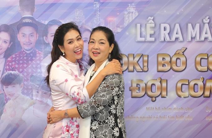Diễn viên Hà Hương (trái) và NSƯT Minh Phương.