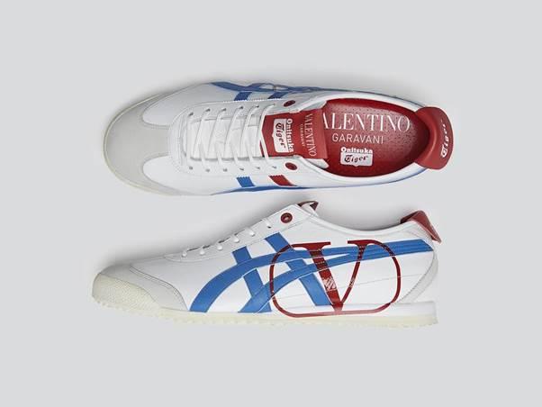 Đôi giày đặc biệt thuộc bộ sưu tập được bán tại một số cửa hàng củaOnitsuka Tiger.