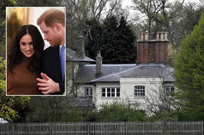 Nhà Harry giữ lai Frogmore Cottage sau khi tuyên bố rút khỏi hoàng gia nhưng đã cho hai nhân viên chủ chốt ở đây nghỉ việc. Ảnh: Hello.