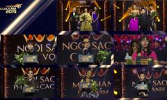 Những khoảnh khắc ấn tượng tại gala 'Ngôi sao của năm 2019' Ngoi sao cua nam 2019