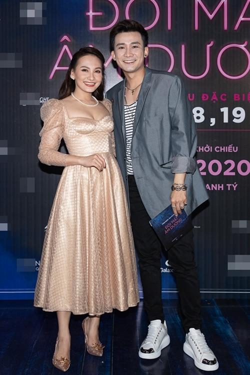 Ca sĩ Chí Thiện đến chúc mừng Bảo Thanh lần đầu Nam tiến đóng phim điện ảnh. Hai người từng đóng cặp trong phim Ngày ấy mình đã yêu chiếu năm 2018.