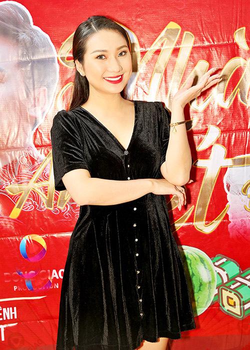 Diễn viên Cao Mỹ Kim là đàn em thân thiết của đạo diễn Quyền Lộc.
