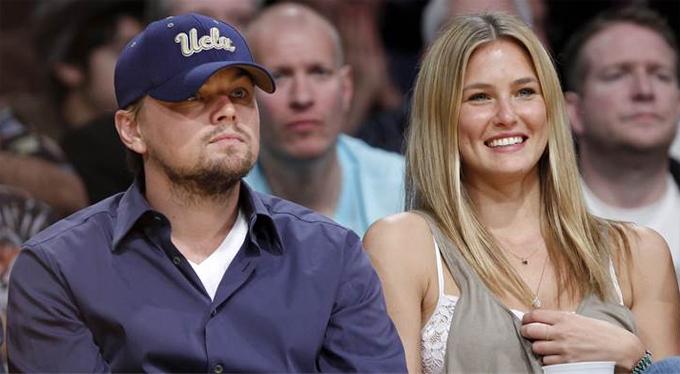 Người đẹp và Leo khi còn hẹn hò.