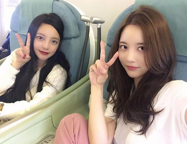Seo Hee và Goo Hara.