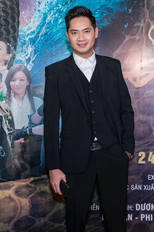 Diễn viên Minh Luân dự sự kiện.