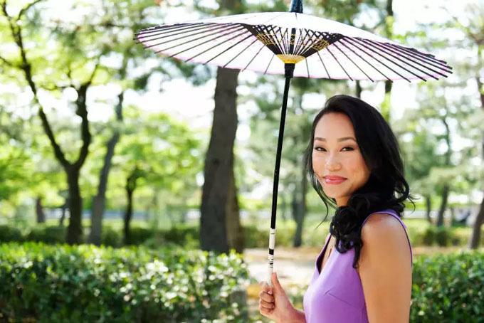 Vicky Tsai, nhà sáng lập thương hiệu mỹ phẩm Tatcha. Ảnh: Business.