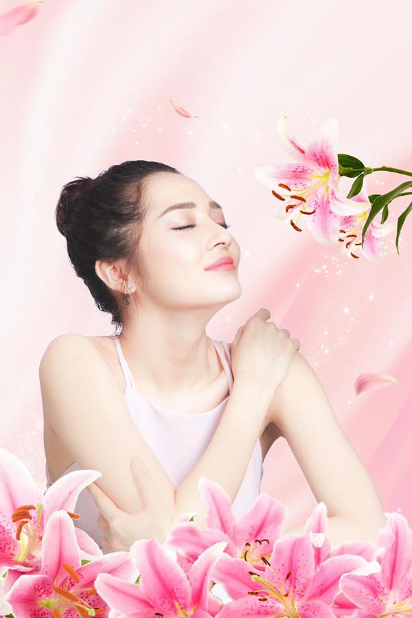 khi làn da trắng sáng của bạn phảng phất hương hoa Lily thuần khiết, tinh tế đầy mê