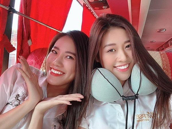Khánh Vân và Kim Duyên thường xuyên đồng hành trong các hoạt đồngcộng đồng.