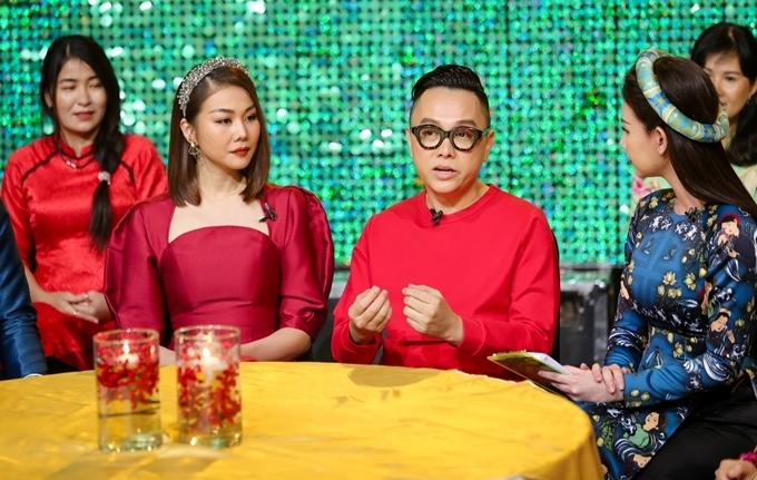 Nhà thiết kế Nguyễn Công Trí, diễn viên Thanh Hằng giao lưu, trò chuyện về những dấu ấn trong năm 2019.