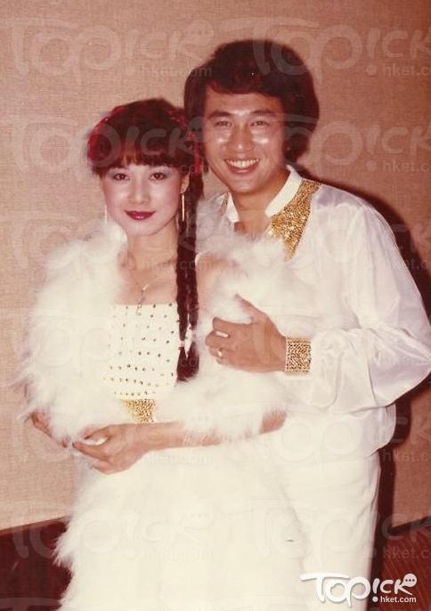 Tài tử Quách Phong và vợ, diễn viên Âu Dương Bội San.
