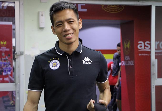 Văn Quyết vừa trải qua chuyến tập huấn tại Malaysia cùng CLB Hà Nội trong những ngày giáp Tết. Ảnh: HNFC.