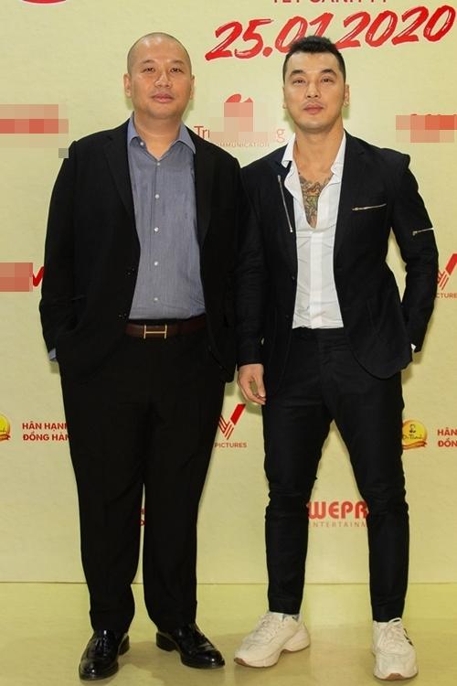 Bộ đôi đình đám của Vpop đầu những năm 2000: nhạc sĩ - nhà sản xuất Quang Huy (trái) và ca sĩ Ưng Hoàng Phúc.