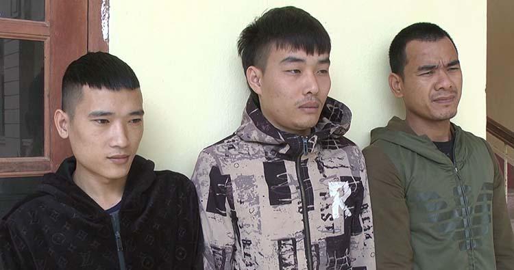 Tuấn, Tám và Uy (từ trái qua phải).