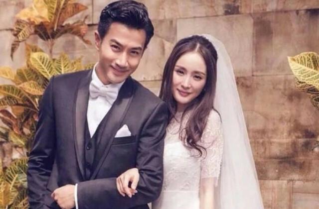 Vợ chồng Dương Mịch khi còn hạnh phúc bên nhau.