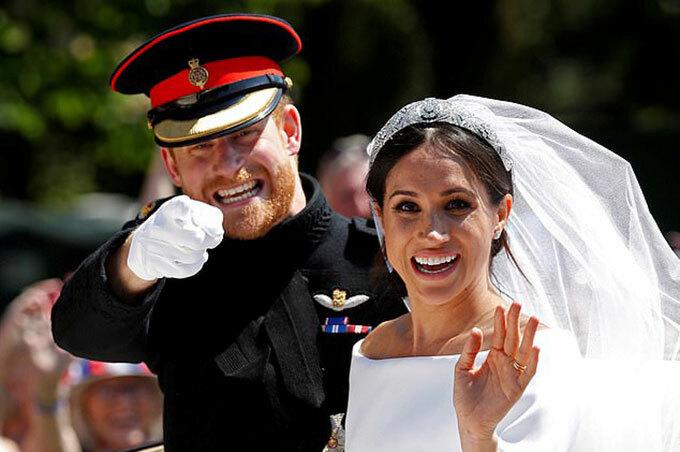 Đồ lưu niệm đám cưới của Harry - Meghan bị loại khỏi bộ sưu tập hoàng gia
