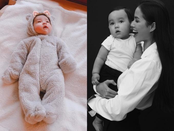 Hoa hậu Phạm Hương sinh con trai Maximus
