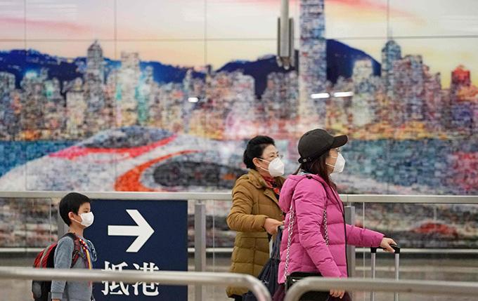 Khẩu trang là mặt hàng khan hiếm ở Trung Quốc thời điểm này.