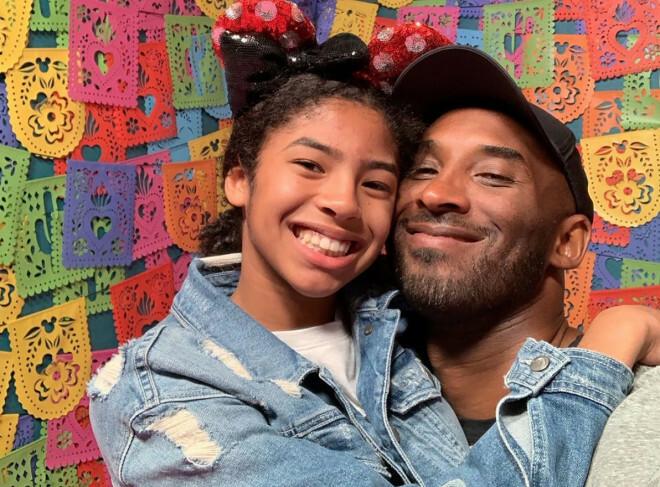 Kobe và con gái Gianna.