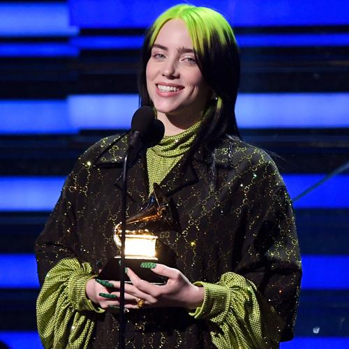 Billie Eilish giành bốn giải Grammy.
