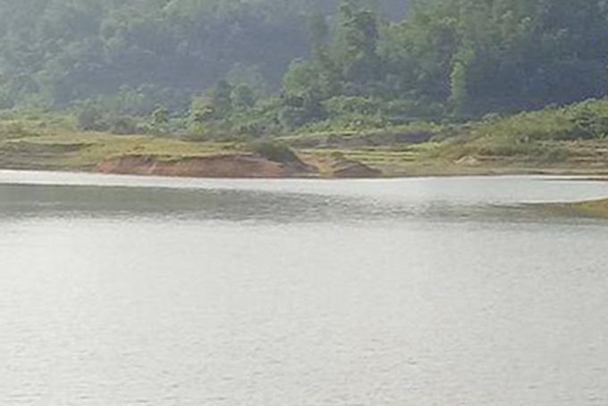 Đập Nội Tranh Thượng, nơi bà Thắm gặp nạn. Ảnh: H.L
