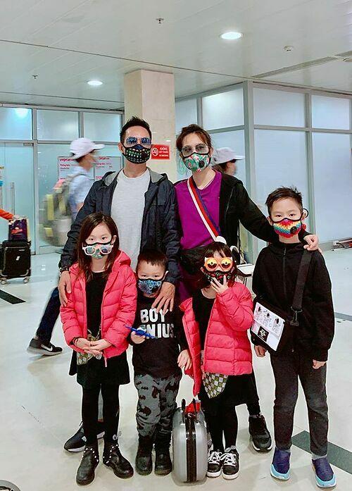Vợ chồng Lý Hải - Minh Hà cùng 4 con đi du xuân để các thành viên trong gia đình dành nhiều thời gian bên nhau hơn.