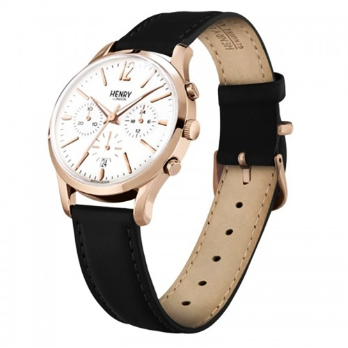 Đồng hồ nữ Henry LondonHL39-CS-0036đang được ưa chuộng trênShop VnExpress.Thiết kế thời trang pha lẫn thể thao với ba mặt nhỏ bên trong, hội tụ bachức năng tiện lợi xem lịch ngày, 24 giờvà thang đo 30 phút. Thiết kế đang ưu đãi 28%, giá 3,789 triệu đồng (giá gốc 5.262.500 đồng). Sản phẩm chính hãng, miễn phí thay pin trọn đời, bảo hành 2 năm cho máy và tính kháng nước.