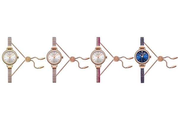 Đồng hồ nữ JS-007 Julius Star Hàn Quốc dây thép