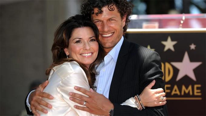 Shania và Frédéric đang có cuộc sống bình yên và hạnh phúc tại Thụy Sỹ. Ảnh: AFP.