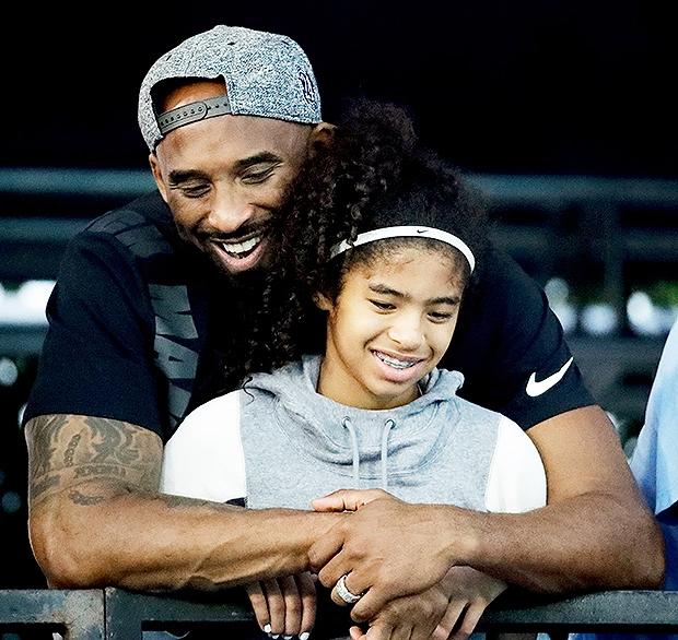 Kobe Bryant và con gái thứ hai Gianna đều tử nạn trong thảm kịch máy bay hôm 26/1.