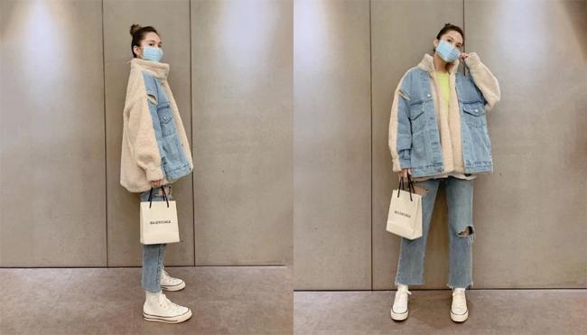 Dương Thừa Lâm cũng như nhiều nghệ sĩ khác chọn lựa bảo vệ bản thân bằng cách đeo khẩu trang khi ra ngoài.