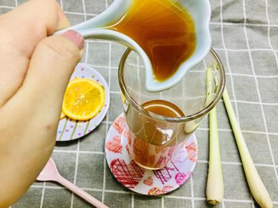 Trà cam sả mật ong - 3