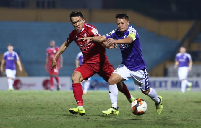 Trận tranh Siêu Cupquốc gia 2019 giữa Hà Nội và TP HCM không thể diễn ra theo đúng kế hoạch. Ảnh: Đương Phạm.