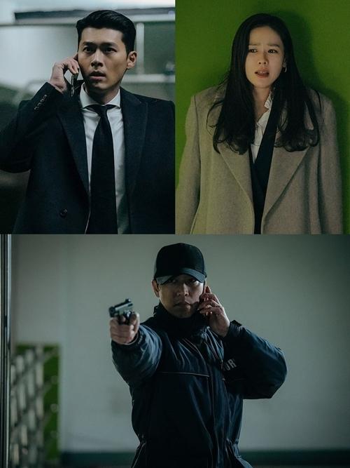 Hai nhân vật chính bị Cho Chul Gang truy sát.