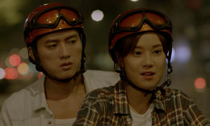 Hoàng Yến Chibi vào vai cô gái xe ôm, Quách Ngọc Tuyên đóng vai trai đứng đường.