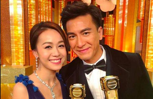 Mã Quốc Minh và bạn gái cũ Hoàng Tâm Dĩnh.