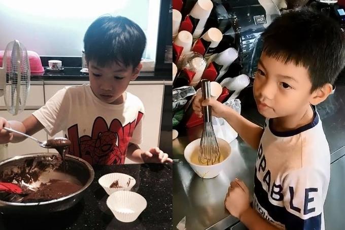 Subeo cũng tự biết lo cho bản thân. Cậu bé nhiều trổ tài làm bánh ngọt khá thuần thục.