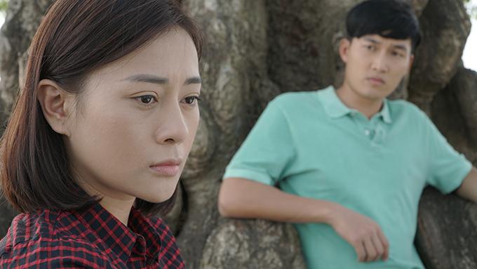 Phương Oanh trong phim Cô gái nhà người ta.
