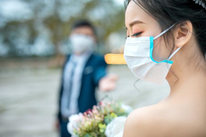 Ảnh cưới giữa mùa dịch Corona - 3