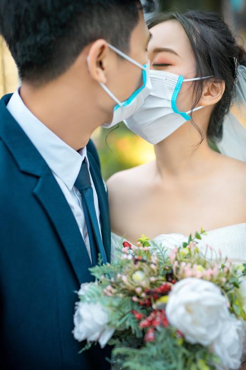 Ảnh cưới giữa mùa dịch Corona - 4